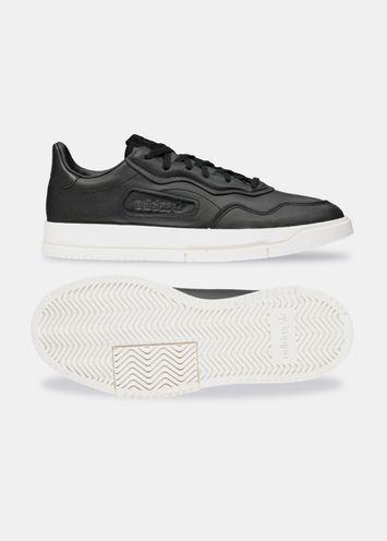 83ef7093 Adidas Originals black and white Super Court sneaker - Essentiel ...