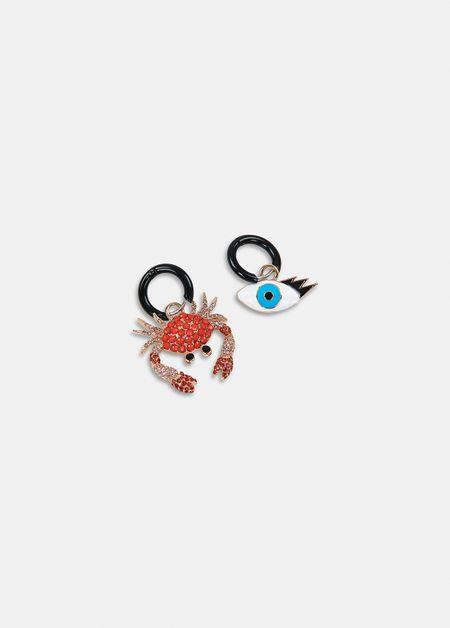 Avenger earrings-a1bl-os