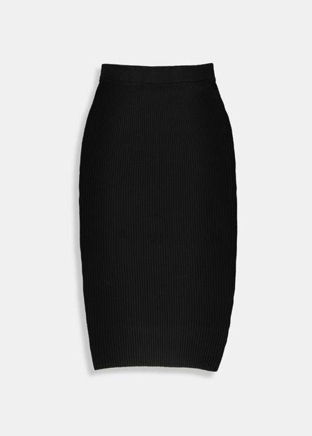 Trumpet skirt-bl18-m