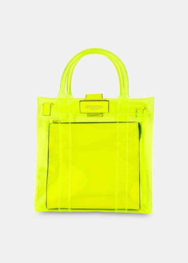 2bd98d1cd731 Transparent yellow shoulder bag. (More colors)